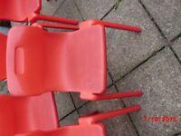 school chair TITAN stacker