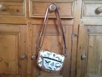 F&F butterfly handbag never been used