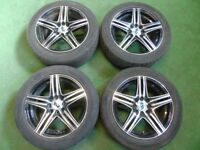 "RIPSPEED 15"" inch ALLOY WHEELS FOR FORD FIESTA, PUMA, KA, VW POLO, LUPO, CORSA"
