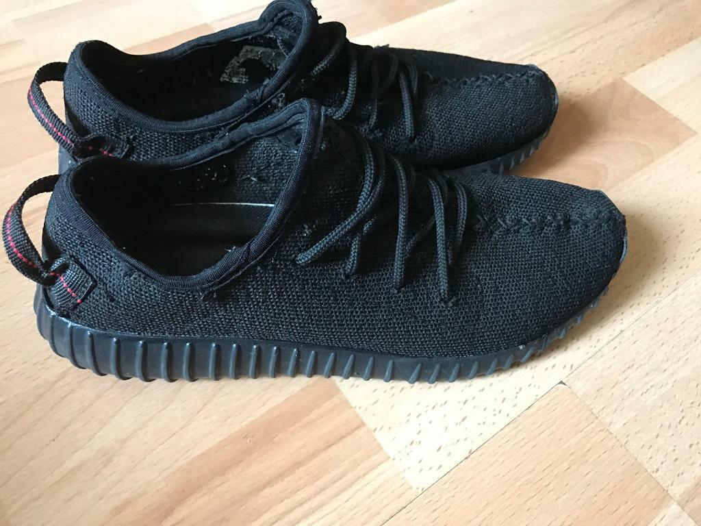 Adidas Yeezy Boost 350 V2 Infant Black Solar Red (BB6372) RMKstore