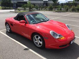 Porsche Boxster convertable 51 reg, low miles