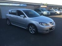2008 58 NEWSHAPE MAZDA 3 SPORT 1.6 LONG MOT 1 OWNER FULL SERVICE HISTORY PX WELCOME £1895