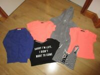 WONDERFUL 7 piece BUNDLE OF GIRL'S CLOTHES - size 6-8 in WONDERFUL CONDITION