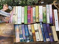 Box of romantic fiction