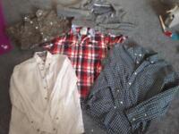 5 boys shirts 11-12