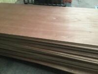 18mm exterior plywood hardwood throughout 8x4 sheets