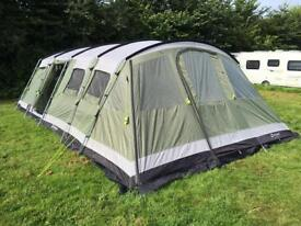 SSTC Outwell XL tent comes with foot print and carpet