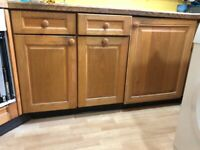 Solid wood kitchen units ONO