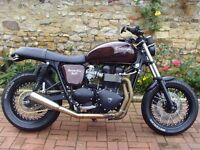 Triumph Bonneville 865 2011 custom build