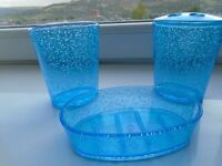 Bathroom Soap Tray/Toothbrush Holder/Drinking Glass