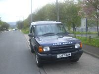 1999 T reg land rover td5 discovery