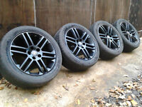 """17"""" Genuine Vauxhall Alloy Wheels with Good Tyres 5x110"""