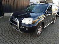 Left hand driver four wheel drive Nissan Xtrail