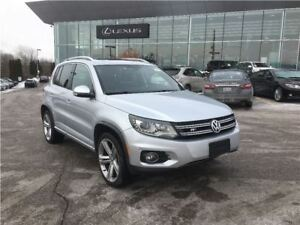 2014 Volkswagen Tiguan R-LINE/HIGHLINE/LEATHER/ROOF/NAV