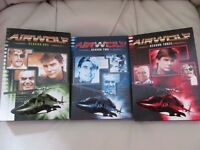AIRWOLF COMPLETE SEASONS 1-3 DVD BOXSET MINT CONDITION