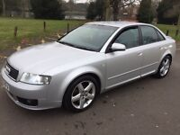 2003 Audi A4 1.8 T Sport 4dr Full HPI Clear, Good condition @07445775115@