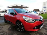 Renault Clio DYNAMIQUE MEDIANAV ENERGY DCI S/S (red) 2014