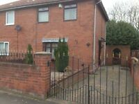 Large 3 bed house with garden, Gateshead, No bond, DSS accepted.