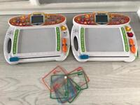 2x Vtech write and learn creative Centre interactive