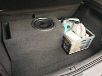 """10"""" Pioneer TS-W2501D4 Dual 4 ohms 800 RMS / 2500 watts in a Ported Box enclosure 33hz LOUD"""