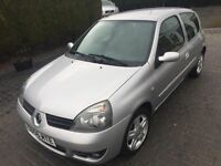 \\\ 56 REG RENAULT CLIO CAMPUS SPORT 1.2 \\\ ONLY 49K IMMACULATE NOW £999