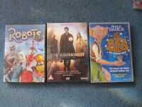 Selection of 25 DVD's