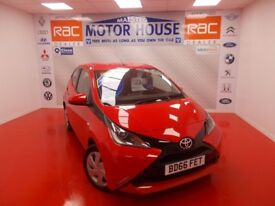 Toyota Aygo VVT-I X-PLAY (£0.00 ROAD TAX) FREE MOT'S AS LONG AS YOU OWN THE CAR!! (red) 2016
