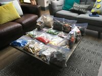 A large collection of assorted Lego Approx 7.5 kg including mini figures