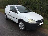 Vauxhall corsa van PETROL Cheap tax and insurance