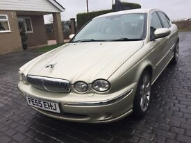 \\\ 55 REG JAGUAR X TYPE SE , DIESEL , \\\ IMMACULATE WITH SAT NAV \\\ £1999