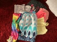 Girls mixed clothes