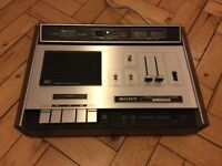 Vintage Sony cassette deck TC-161SD. Not working, spares or repair.