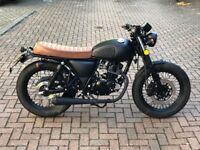 MUTT Mongrel 125cc - 2018 EFI Model BLACK