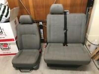 VW Transporter T5 Front Seats