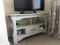 **SOLD** GREY TV UNIT WITH DRAWER