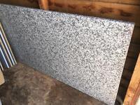 White granite worktop offcut