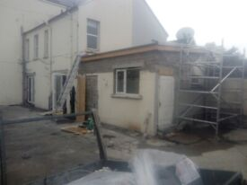 BUILDING & JOINERY/ ROOFING/PITCHED/ FLAT ROOFS / FULLY INSURED/