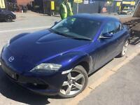 Mazda rx-8 2.6 2006 breaking for parts all parts available