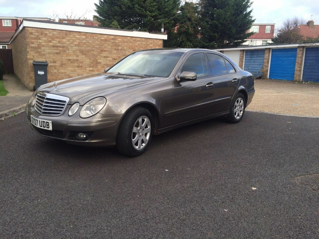 2007 mercedes e220 classic cdi grey manual high motorway miles in stanmore london gumtree. Black Bedroom Furniture Sets. Home Design Ideas