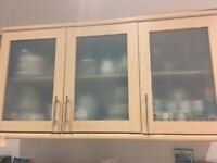 Kitchen Cupboards (Moben) - Triple and Double unit £60