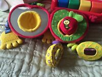 Bundle of early stage baby/toddler toys