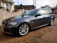 2008 Bmw 330d M-Sport 300bhp (Pan Roof F1 Paddle Shift Auto Leather I-Drive)