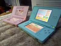 2 Ds Lites Consoles with Games