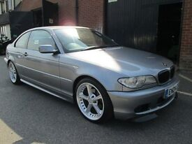 2004 BMW 3 SERIES COUPE M SPORT FULL LEATHER Part exchange available / Credit & Debit cards accepted