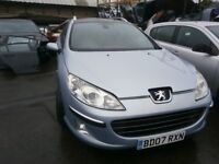 2007 PEUGEOT 407 SW SE HDI ESTATE BREAKING FOR PARTS