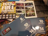 IPG Paintball tickets (10x5) (plus free 1000 balls) valid until 2019 (first come first serve)