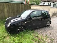 VW Lupo - FK Coil Overs with Chassis notch