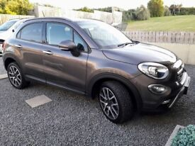 2015 FIAT 500 X CROSS PLUS, 2.0 D, 9 SP. AUTO 4X4 TOP SPEC IN BRONZE WITH LEATHER.NAV.PHONE,PDC, P/X