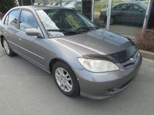 2005 Honda Civic AUTO SEDAN WITH MOONROOF & ALLOYS