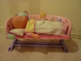 Baby Annabell Sleeping Doll with bed and accessories